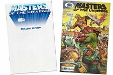 He-Man MOTU #01 & Dynamic Forces Exclusive Preview Book (Certificate)