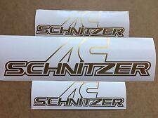 BMW Schnitzer Aufkleber 3St. Tuning Sticker E36 E46 E39 E38 M3 M5 E90 E91 Turbo