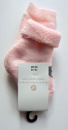 Bellybutton mother nature /& me Mädchen Vollfrottee Socken gr 62-68 rosa