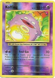 Pokemon XY Evolutions NM Koffing Reverse Holo Card 50//108