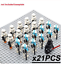 21-22-pcs-lot-Star-Wars-501st-TROOPER-clone-Trooper-Printd-minifigure-Lego-MOC thumbnail 21