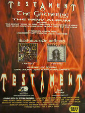 Testament, The Gathering, Full Page Promotional Ad
