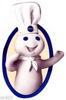 6.5 Pillsbury Doughboy Chef Baker Character Wall Safe Sticker Border Cut Out