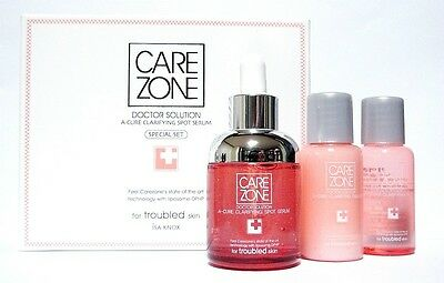 CAREZONE Doctor Solution A-Cure Clarifying Spot Serum Set korean cosmetics