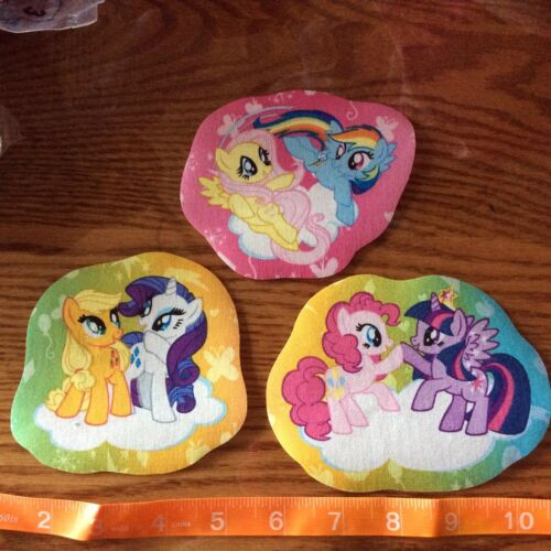 My Little Pony Fabric Iron Appliques