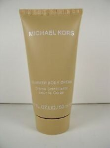 MICHAEL-KORS-GLIMMER-BODY-CREME-CREAM-LOTION-FOR-SUN-KISSED-GLOW-50-ML-1-7-OZ