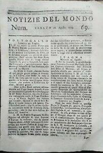 1779-NOTIZIE-DEL-MONDO-CONGRESSO-DI-PHILADELPHIA-INDIPENDENZA-DEGLI-STATI-UNITI