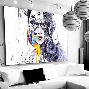 Immagine xxl astratto canvas ikea 140x95x5 loft design tela quadri premi r ebay - Ikea quadri su tela ...