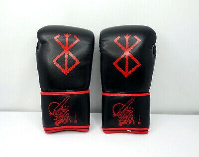 Berserk Anime Boxing Gloves for Bag Work Sparring Brand of Sacrifice 16oz