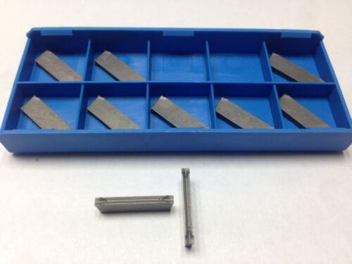 1 X ISCAR DGN 2202J IC20 Cut Off Carbide Inserts Cnc Lathe 2.2mm DGFH DGN