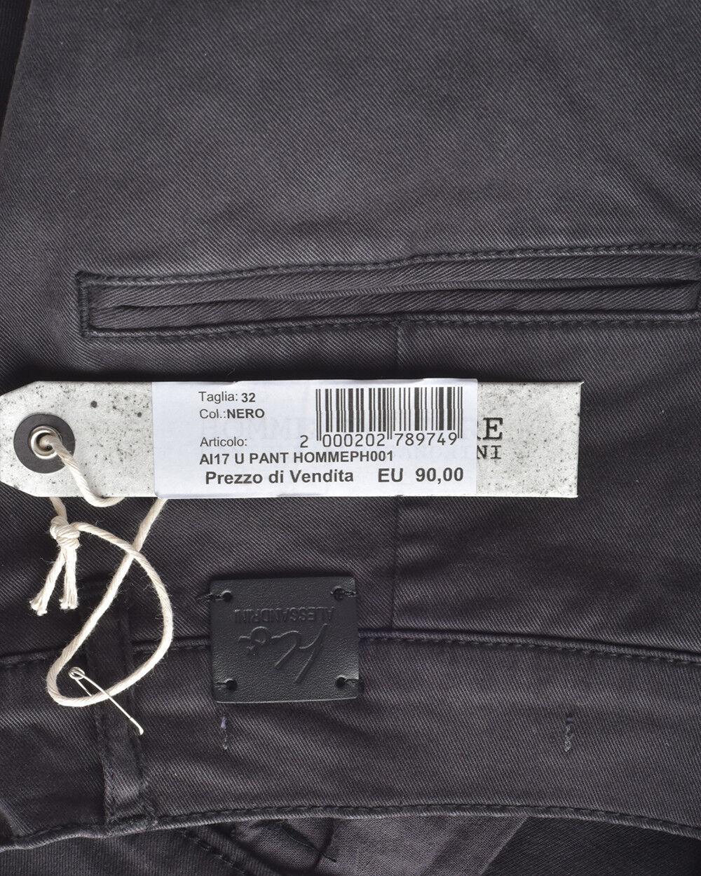 Jeans Daniele Alessandrini Jeans Cotone Cotone Cotone Uomo Nero PH0013707 1 857aef