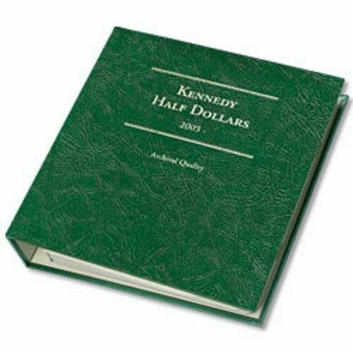 Album For US Kennedy Half Dollars Coins 1988-2004 Littleton LCA50 New Made USA