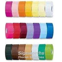 "10 Metres Florist Craft Ribbon 50mm Wide 2"" Floral Flower Gift Bouquet Hamper"