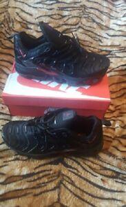 cdcf508b90131 Nike Air VaporMax Tn Plus Size 10 Red and Black Vapor Max Air max w ...