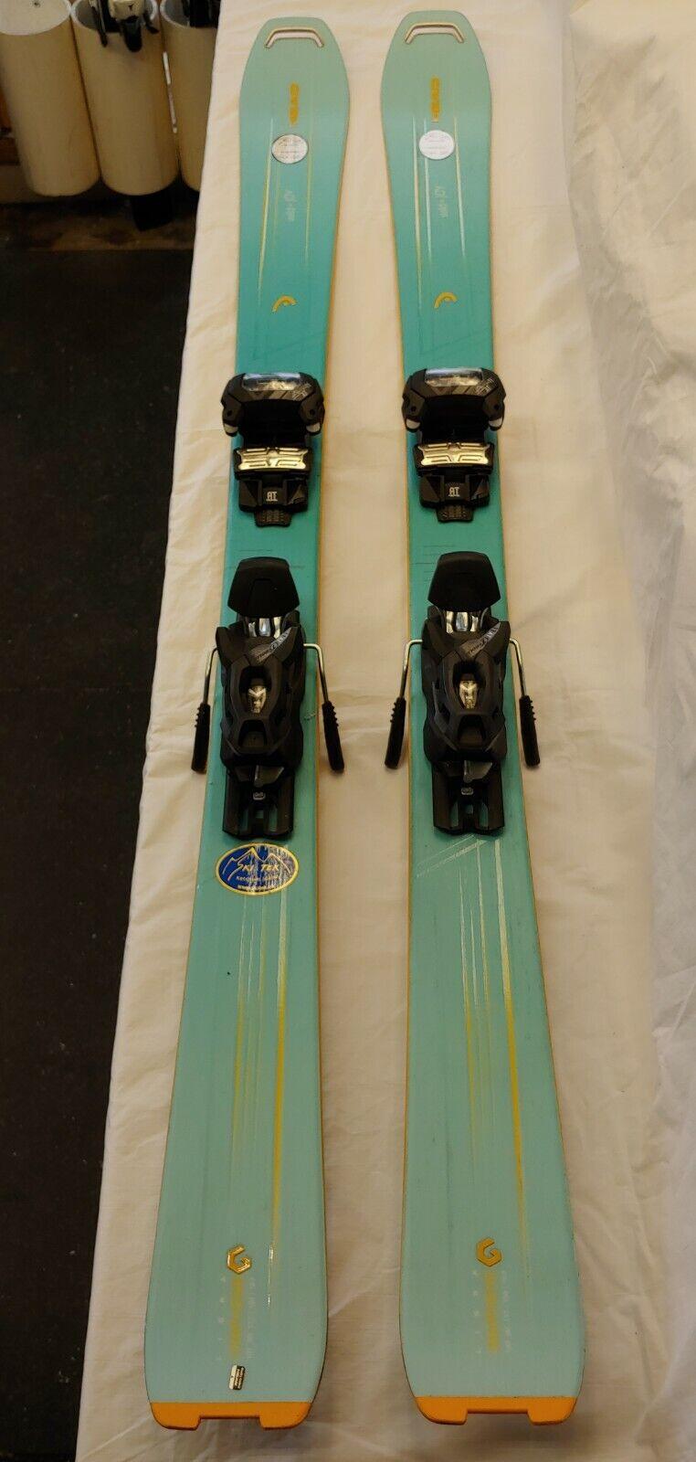 2017 2018 Head Wild Joy damen Ski 158cm with Tyrolia Attack 11 AT Demo Bindings