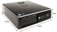 Mini PC Desktop HP 8200 Elite Core i5 3,10GHz 4GB 250GB DVD Windows 7 SFF