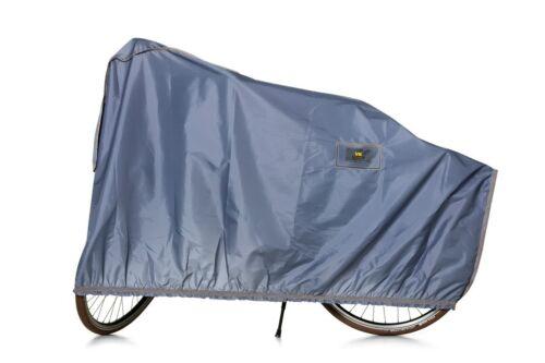 Fahrradgarage Fahrradschutzhülle für E-Bike grau Höhe 105cm Länge 220cm VK NEU