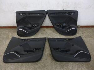 Audi-S3-8V-Bang-Olufsen-Leder-Tuerverkleidung-Verkleidungen-doorboards-A3-RS3