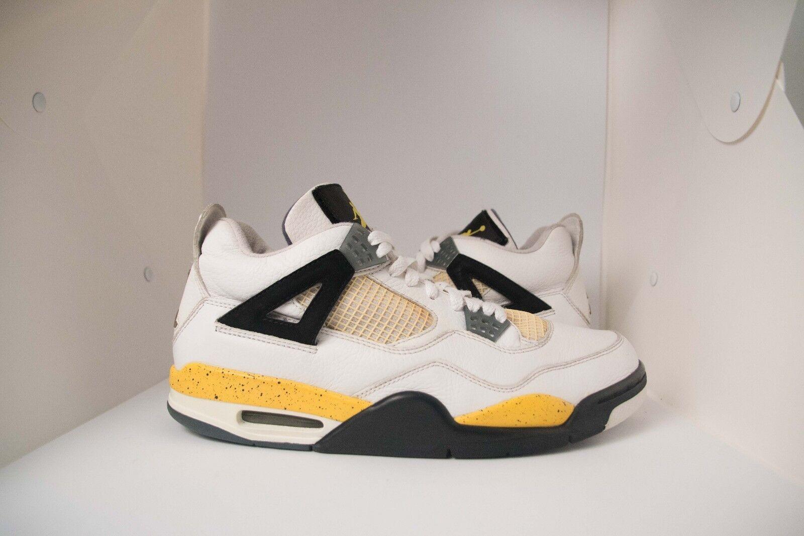 Nike Air Jordan Retro 4 IV raro LS Tour Amarillo 2018 raro IV aire 314254-171 criados cemento marca de descuento 3034c7