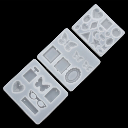 Epoxy Ear Pendant Molds Jewelry Making Tools Silicone Mould Earrings Resin Mold