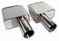 70-72 Corvette Exhaust Extensions Stainless Steel