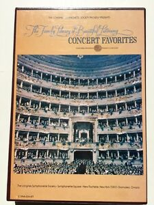 Family Library Of Beautiful Listening 8-track Tape Concert Favorites 4 Longines