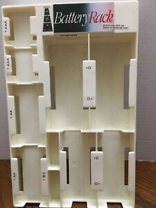 Battery-Rack-Organizer-for-40-Batteries-with-Tester-Works-Wall-Mount-or-Drawer