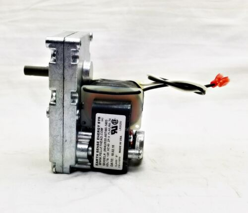 80456 US Stove USSC Auger /& Agitator Feed Motor W//Hole 4 RPM Clockwise