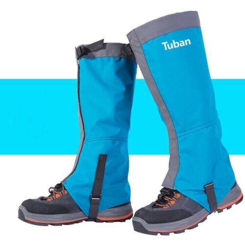 Waterproof Leg Gaiters Snowproof Shoe Cover Legging Nylon Snow Protection Guard