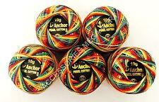 Anchor Perle Cotone crochet ricamo filo Gomitoli, taglia 8, 85m Miglior Affare