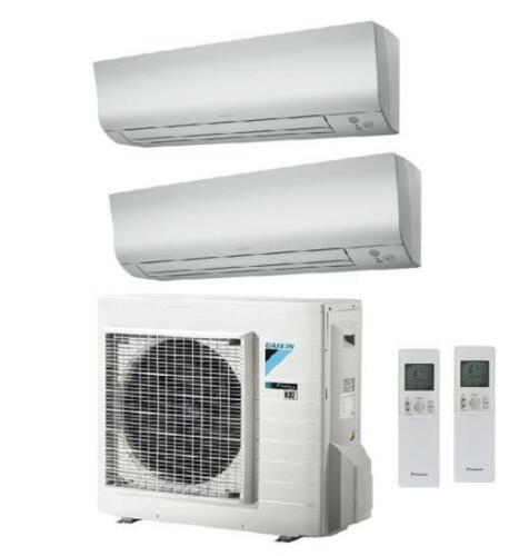 12000btu Wifi A Daikin Dual 2mxm40m+Ftxm25n+Ftxm35n Air Conditioner 9000