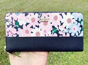 Kate-Spade-Cameron-Street-Lacey-Large-Zip-Around-Wallet-Floral-Multi
