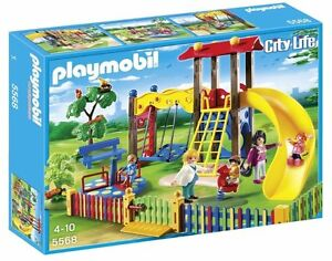 Playmobil-Nursery-Area-of-Games-Child-Playset-with-5-Figures-Playmobil