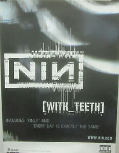 Nine-Inch-Nails-Trent-Reznor-WITH-TEETH-Promo-Poster-2-VG