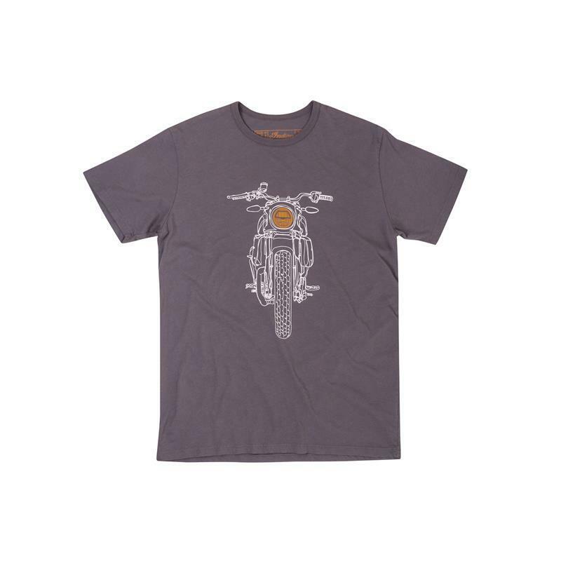 f19b73a8 Indian Motorcycle Headlight T-Shirt Men's FTR1200 nuvmyl74-T-Shirts