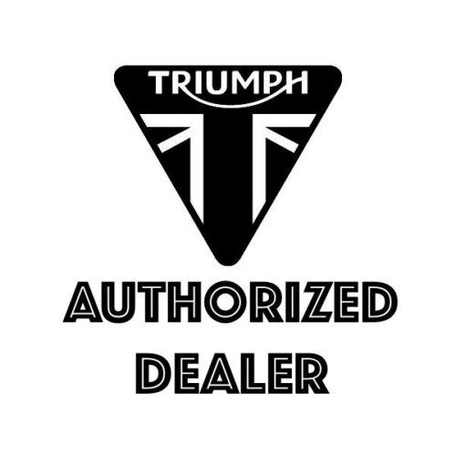 Triumph Bonneville T120 /& T100 Brushed Clutch Cover Badge A9610256