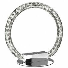 Tischleuchte mit Dimmer Tischlampe LED Effekteleuchte Dekoleuchte Ringleuchte