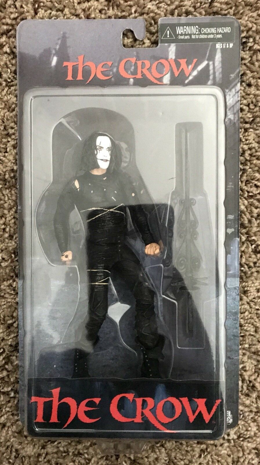 NECA Cult Classics The Crew Brandon Lee 7 Inch Action Figure