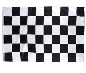 2-CHECKERED-FLAG-3-X-5-FEET-36-034-X-60-034-NASCAR-RACING-BLACK-AND-WHITE-FLAGS-BANNER