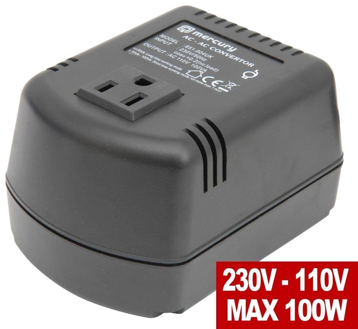 USA-UK plug-in Cased Step Down automatiques 110/240V transformateur 100VA 100VA 100VA 100 W 4a9d39