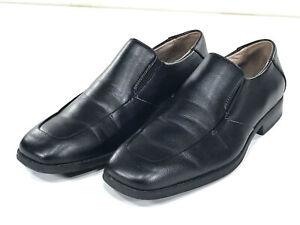 black leather mens shoes size 10 merona stylish dress guys