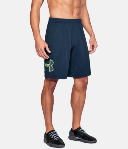 "L Workout Fitness Shorts M 10/"" S Under Armour Men/'s UA Tech Graphic Shorts"