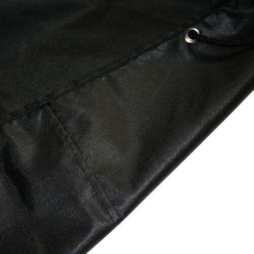 Schutzhülle Gartenmöbel Abdeckung Abdeckplane Sitzgruppe schwarz 145x125x80cm