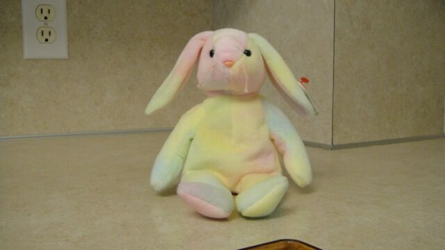 f8b52dea0bb Ty Beanie Baby Hippie The Bunny (1999) With Tags for sale online
