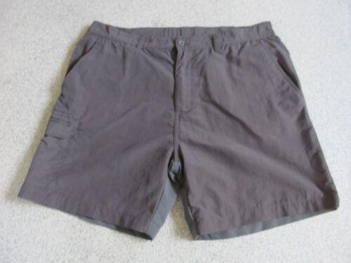 Regatta Mens Brown Hiking Walking Shorts Multi Pocket VGC Low Postage