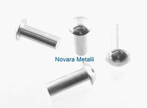 100 rivets aluminium tête ronde 2x8mm 100 pieces remache cabeza redonda