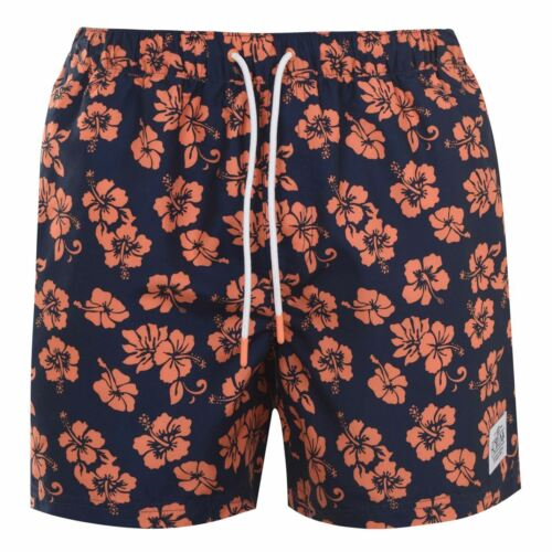 Hot Tuna Herren Gemustert Shorts Kurze Hose Badehose Boardshorts Extra Leicht