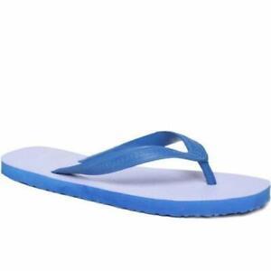RSINC Casual Blue \u0026 White Rubber Flip