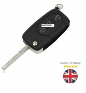 for-Audi-A2-A3-A4-A6-A8-TT-3-Button-Key-Case-Shell-With-Uncut-Blade-A16