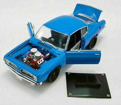 ACME 1:18-1969 Plymouth Hemi Cuda Street Fighter Blue